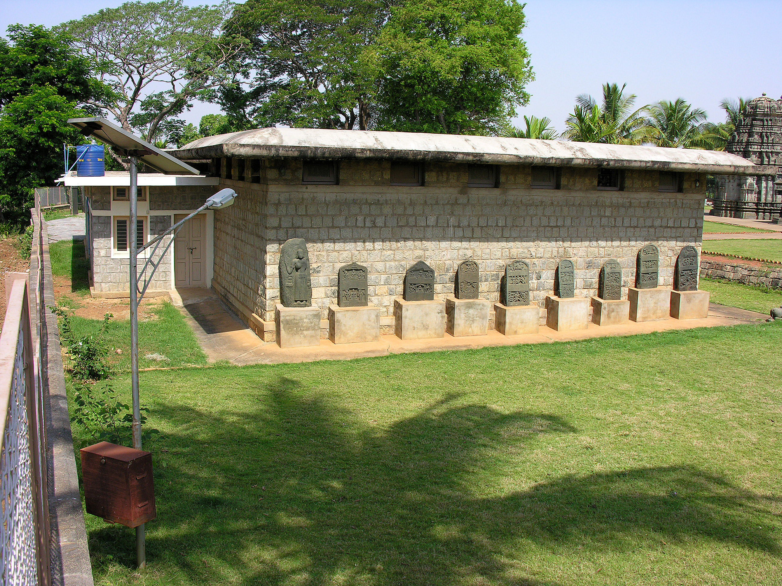 Beligavi Sculpture Shed Building